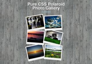 CSS3 photo gallery